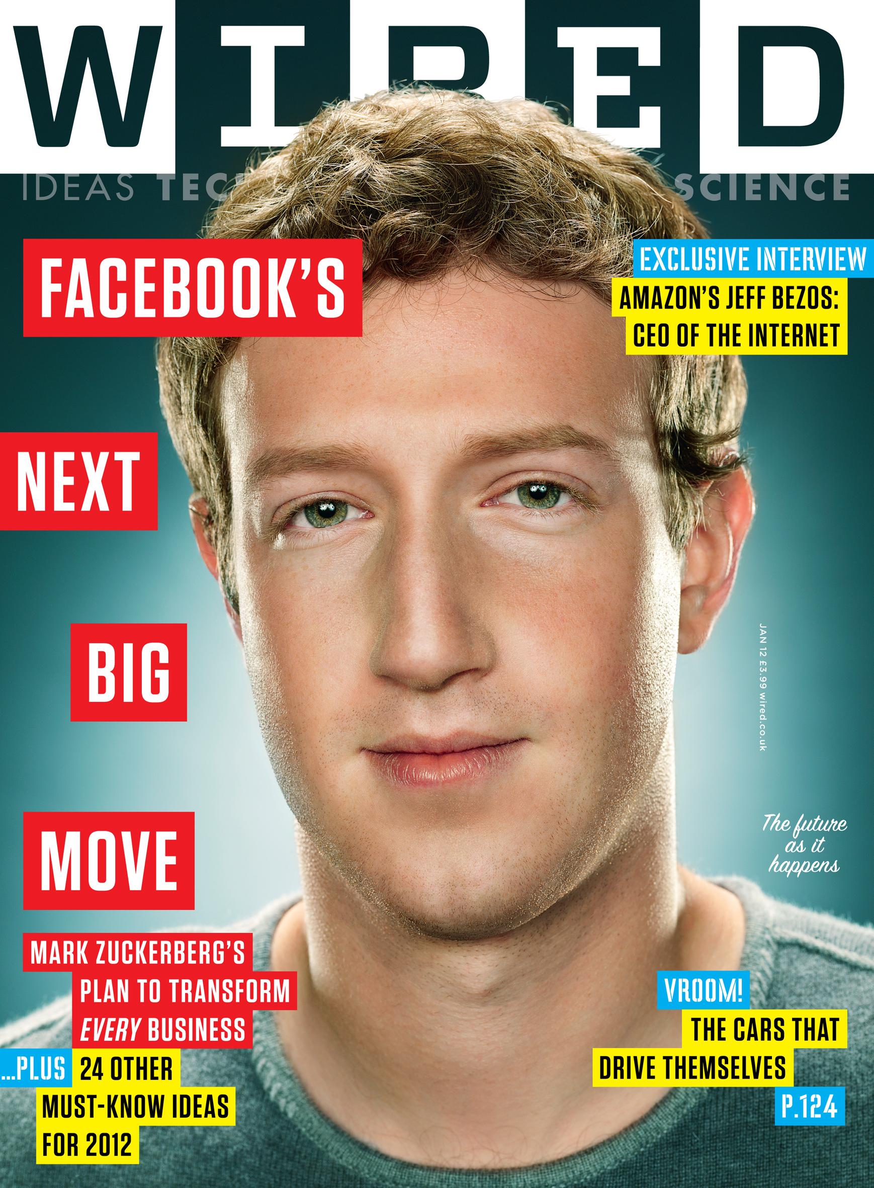 Wired Magazine - Mark Zuckerberg