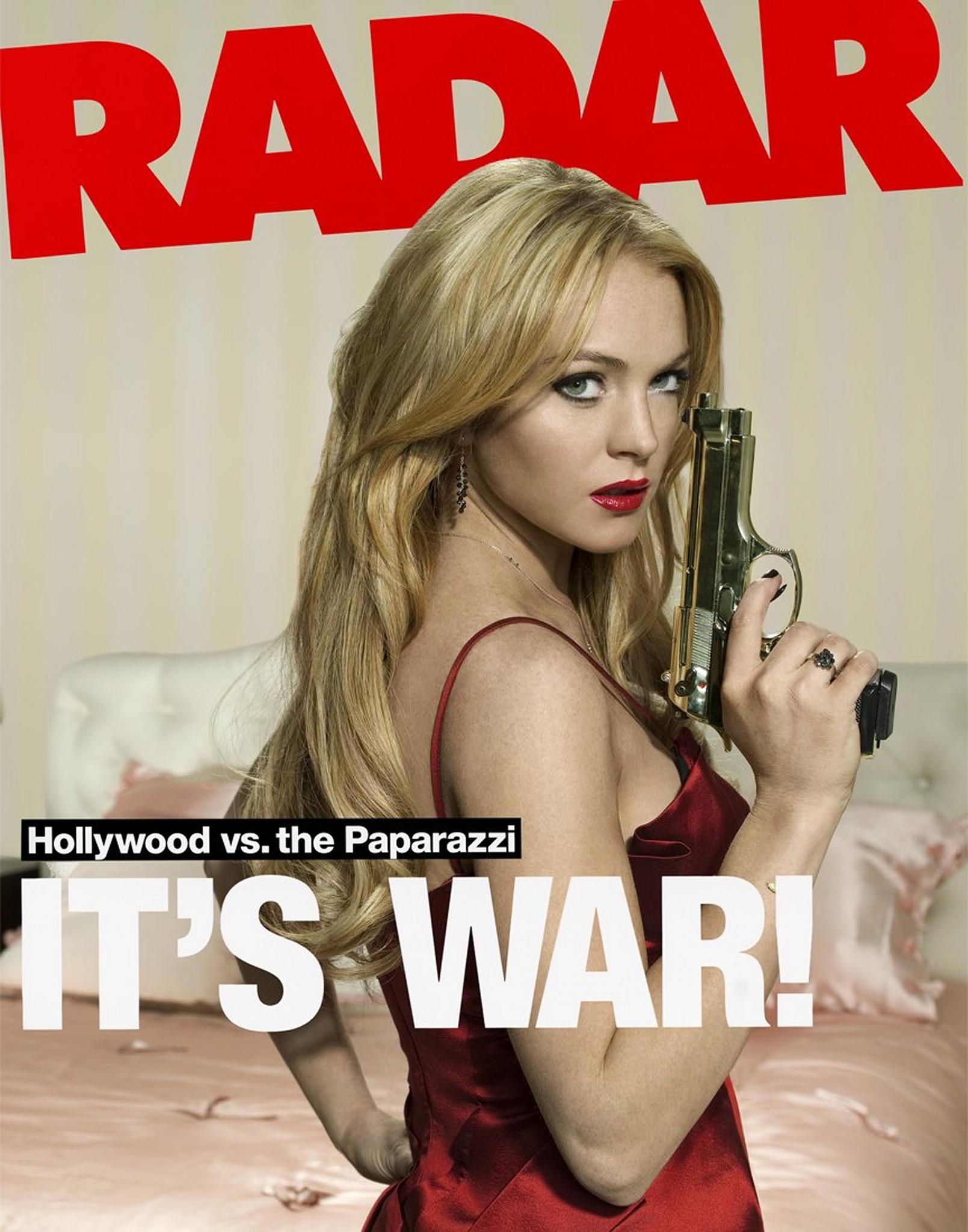 Radar Magazine - Lindsay Lohan