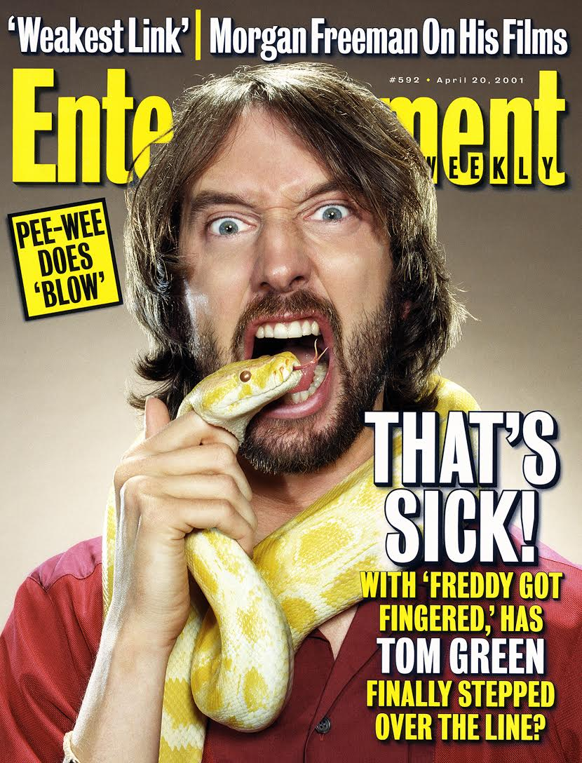 Entertainment Weekly – Tom Green