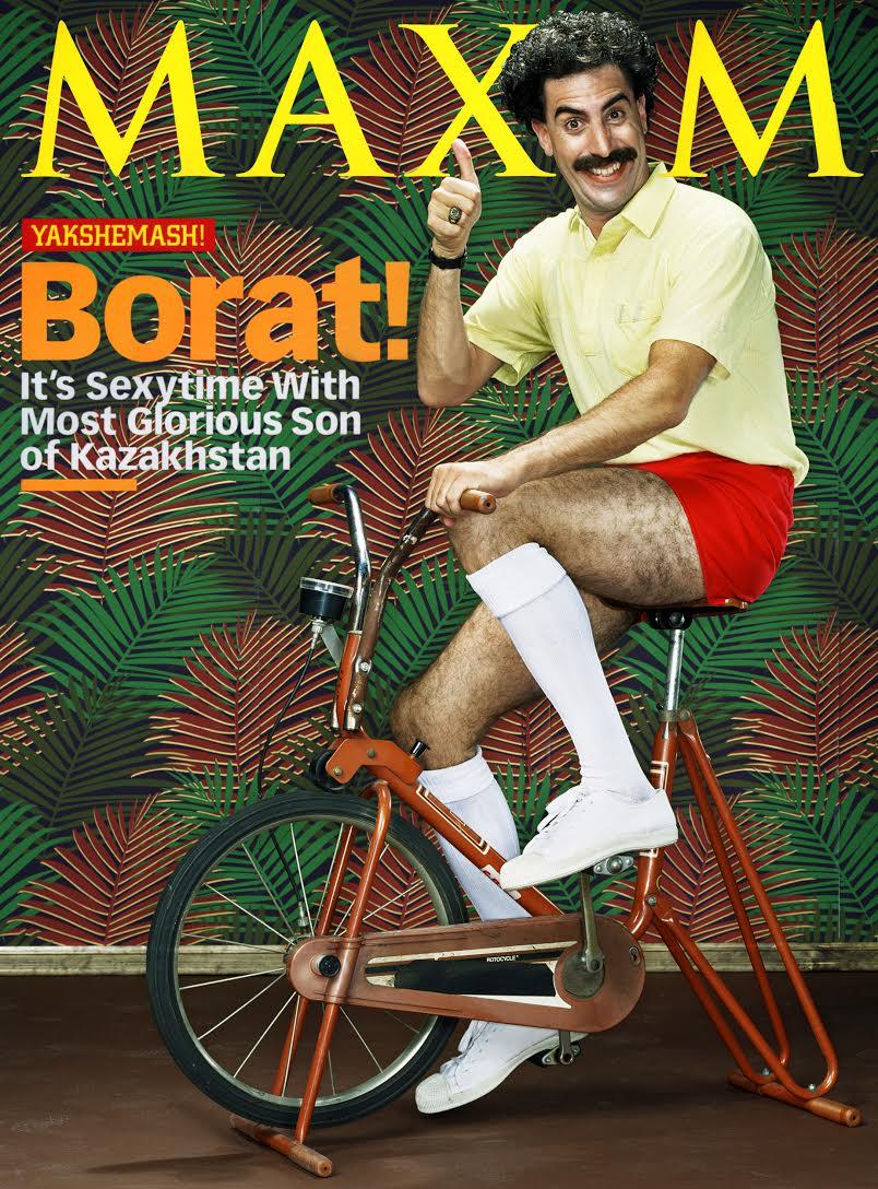 Maxim - Borat (Sacha Baron Cohen)
