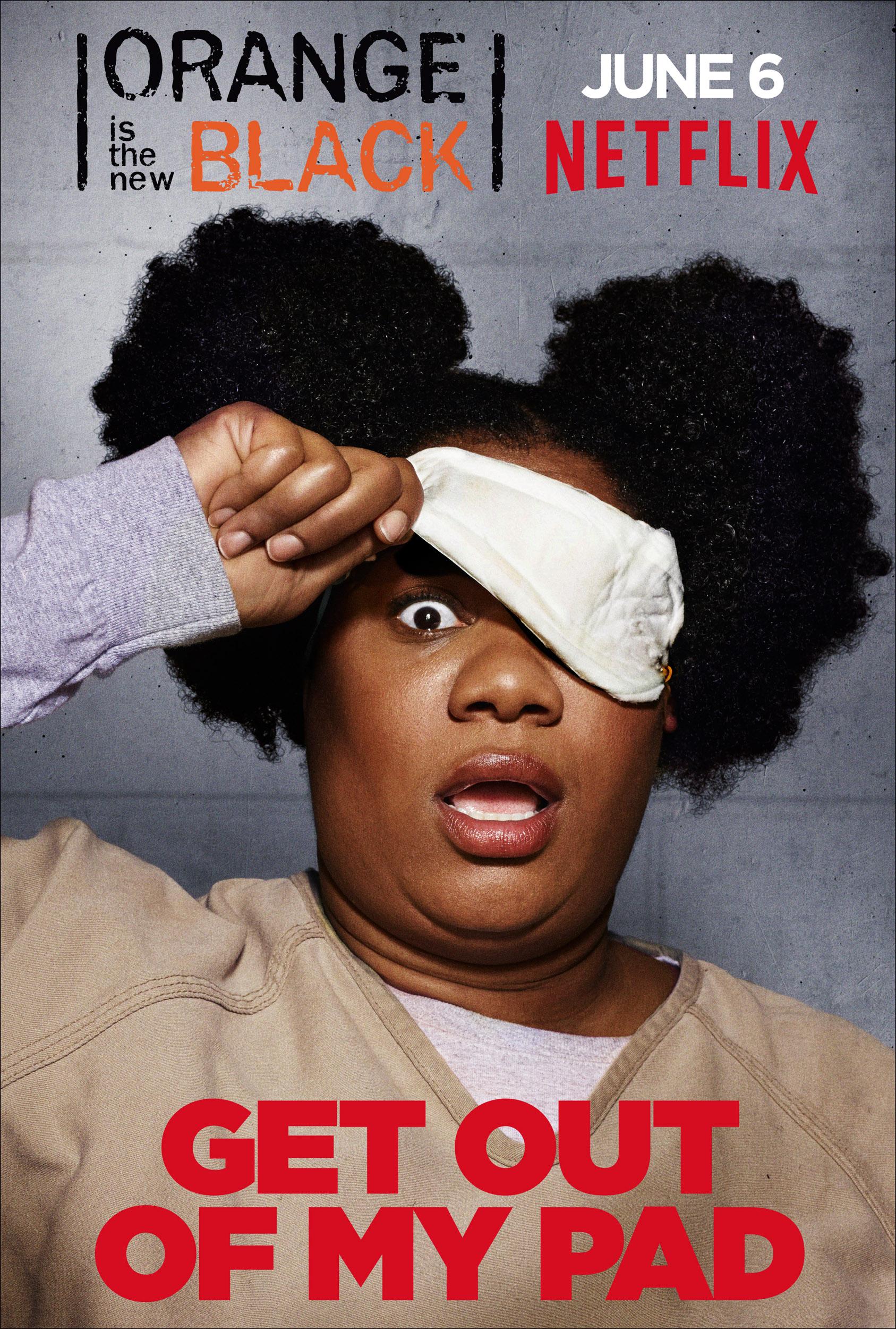 Orange Is the New Black - Adrienne C. Moore (Cindy Hayes)