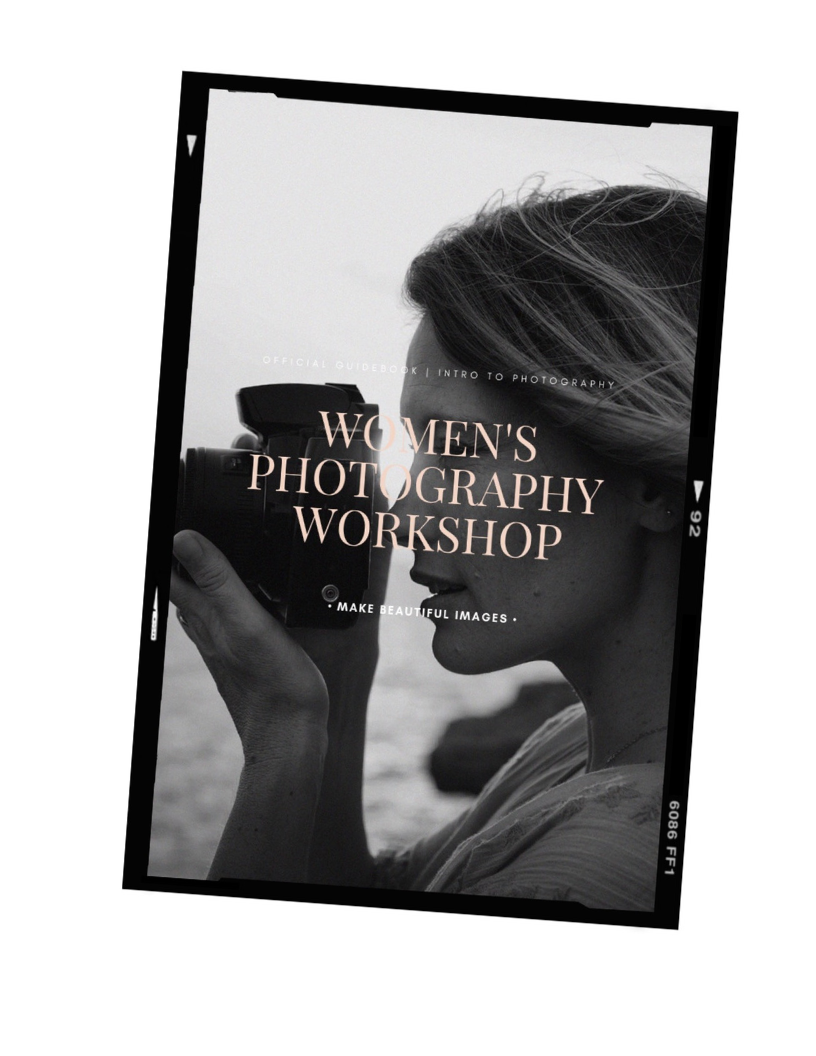 You'll receive a gorgeous twelve page guidebook as a part of your workshop  ☝️