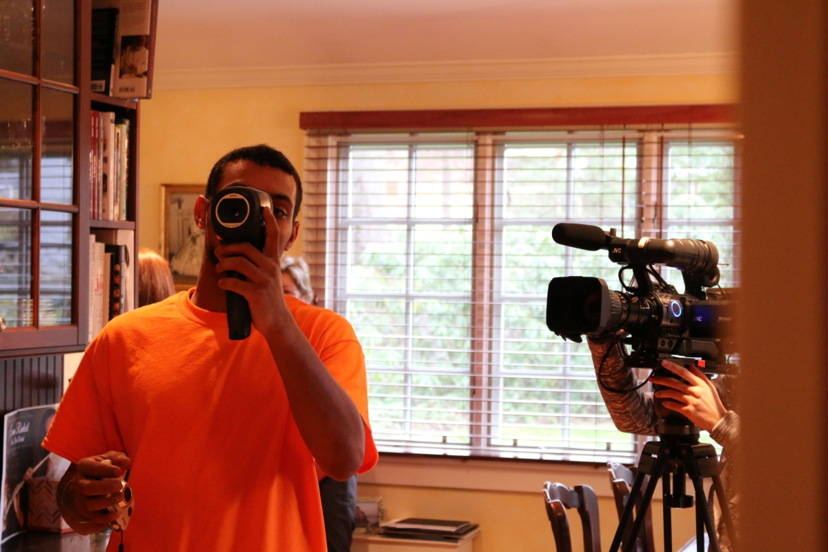 Thermal imaging is used to identify weaknesses in a home's thermal envelope.