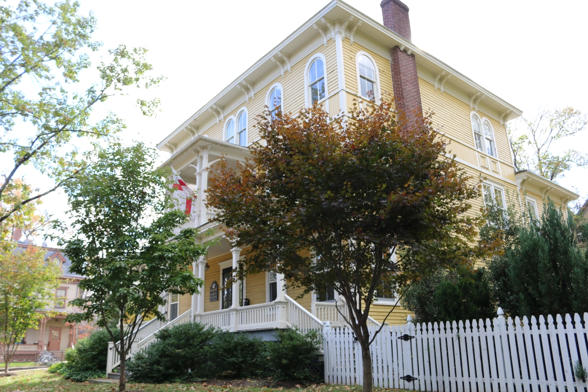 Corner of Dickinson Street & University Place, Princeton, New Jersey