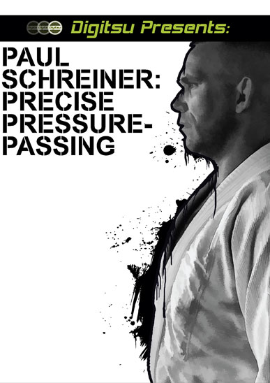 PAUL SCHREINER: PRECISE PRESSURE PASSING DVD - Touted as one of the best kept secrets in Jiu Jitsu, Claudio Franca BB Paul Schreiner is one of the most prolific instructors in the United States. Now, largely responsible for cultivating the deep talent pool at the famed Marcelo Garcia Academy in New York, Paul reveals his highly effective pressure passing system to the Digitsu audience. His highly analytical approach to teaching will provide you with game changing strategies. Don't Miss Out!
