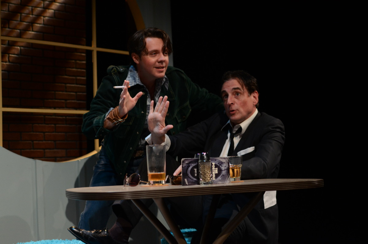 Kristopher P. Stoker and Sean Patrick Reilly in The Spritualist (2013). Bettencourt Chase Photography.
