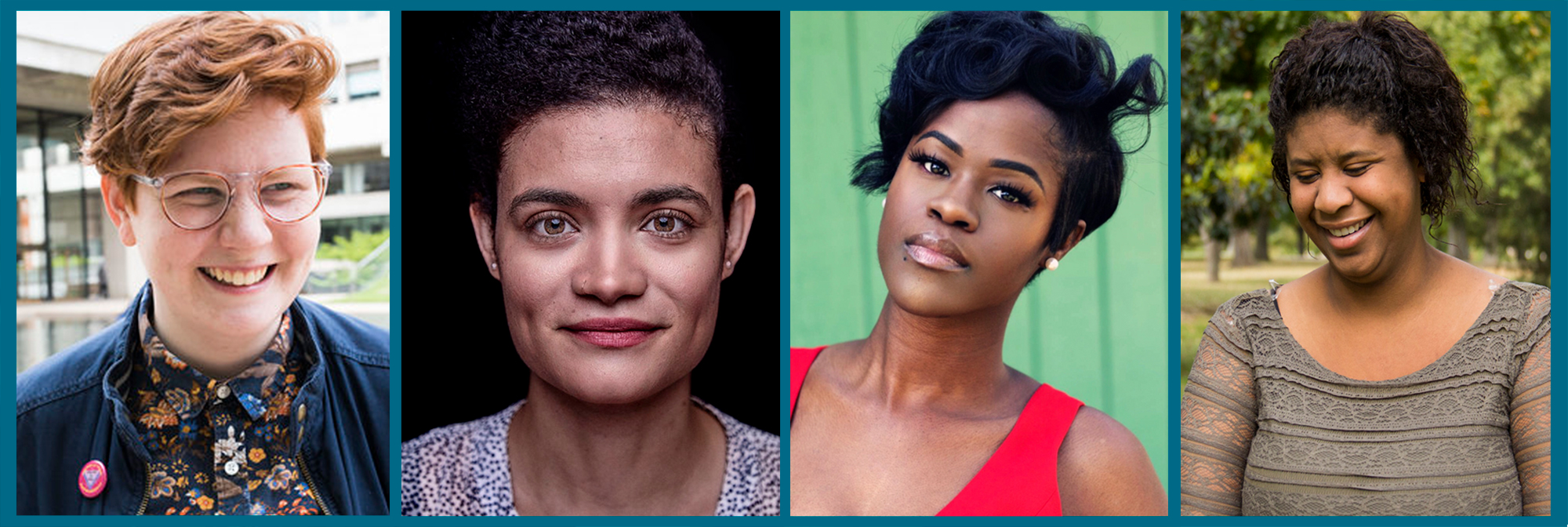 Playwrights to be featured at the festival include (L to R) Bryna Turner, Adrienne Dawes, Na'Tosha De'Von, and Rachel Lynett.