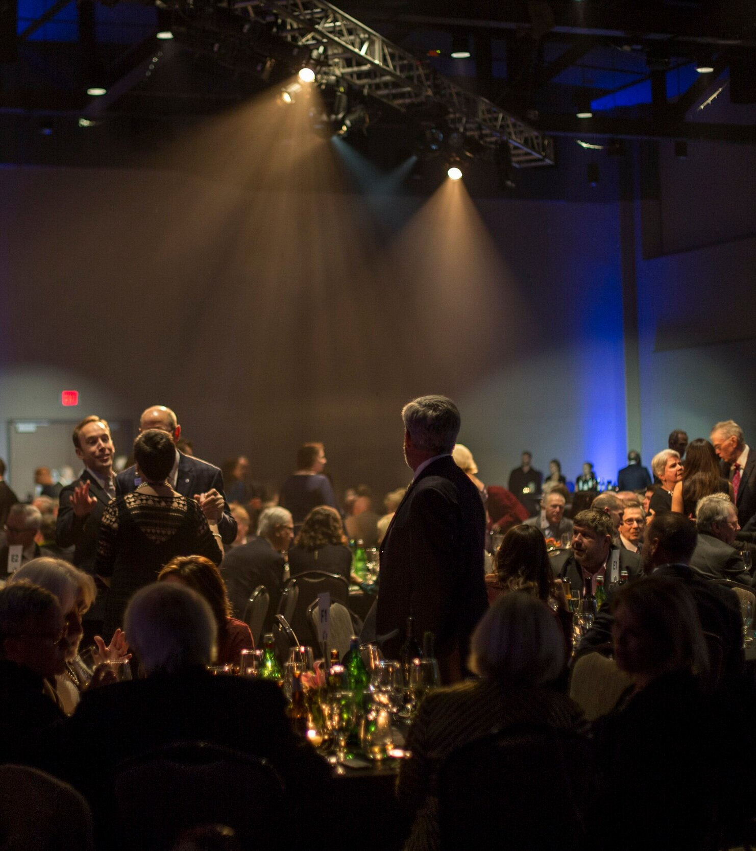 More than 400 guests attend the TheatreSquared Gala each year, enjoying an evening of entertainment, fine dining, drinks and conversation in celebration and support of education and access programs serving 30,000 Arkansans.