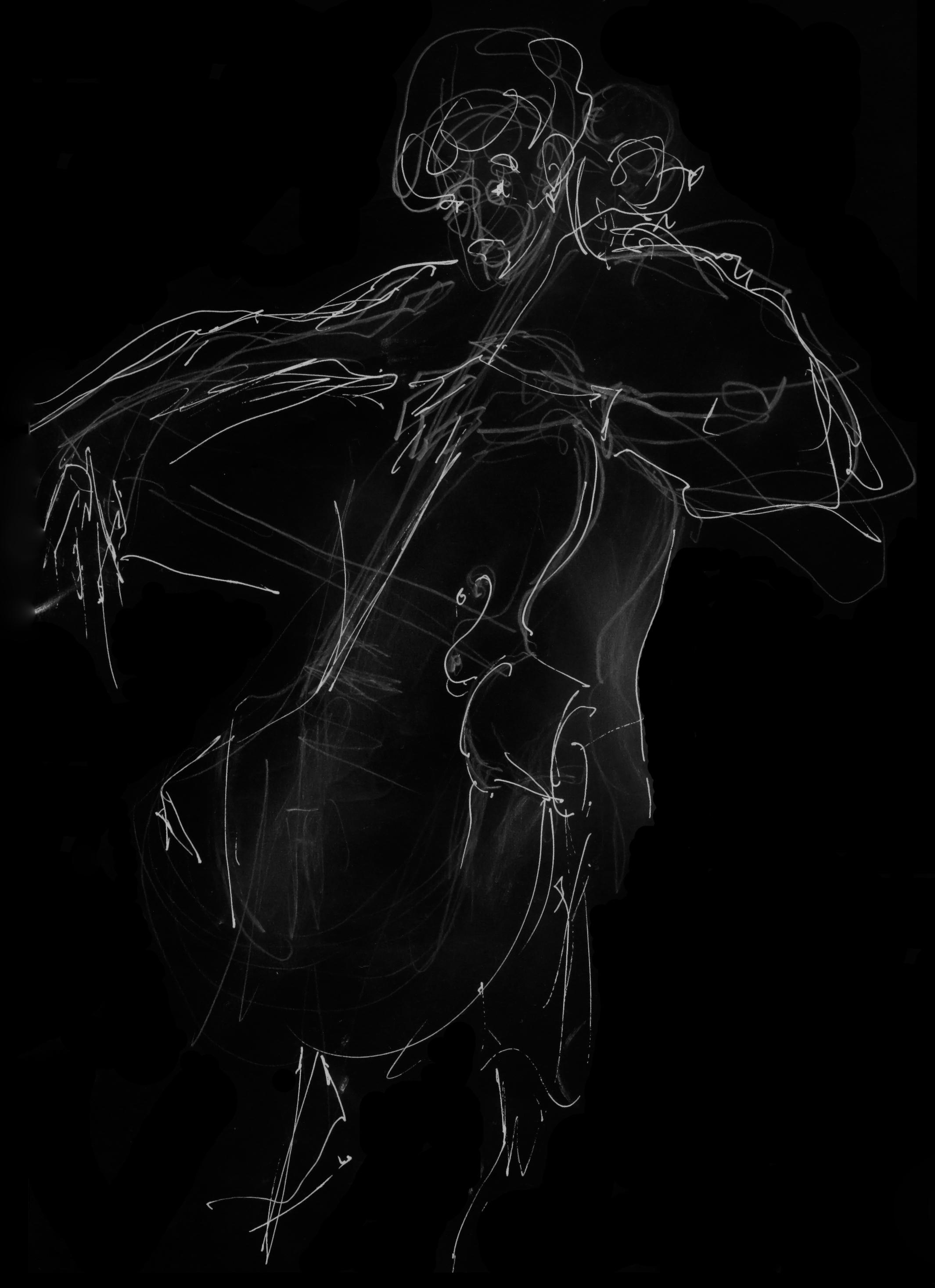 Dibujo por Liduine Zumpolle.