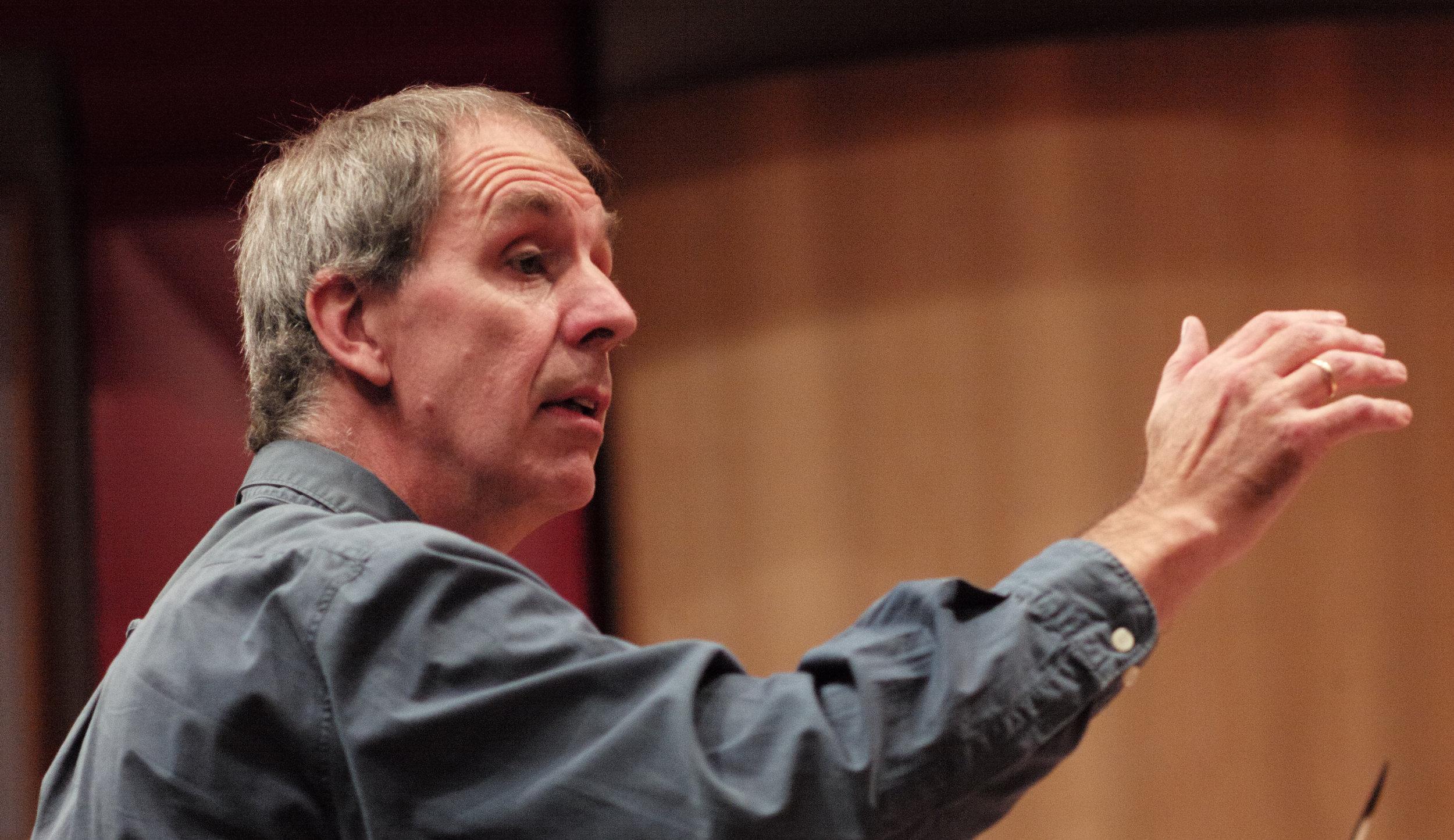 Richard Gwilt, composer of 'Fantasia for 'Cello Alone.