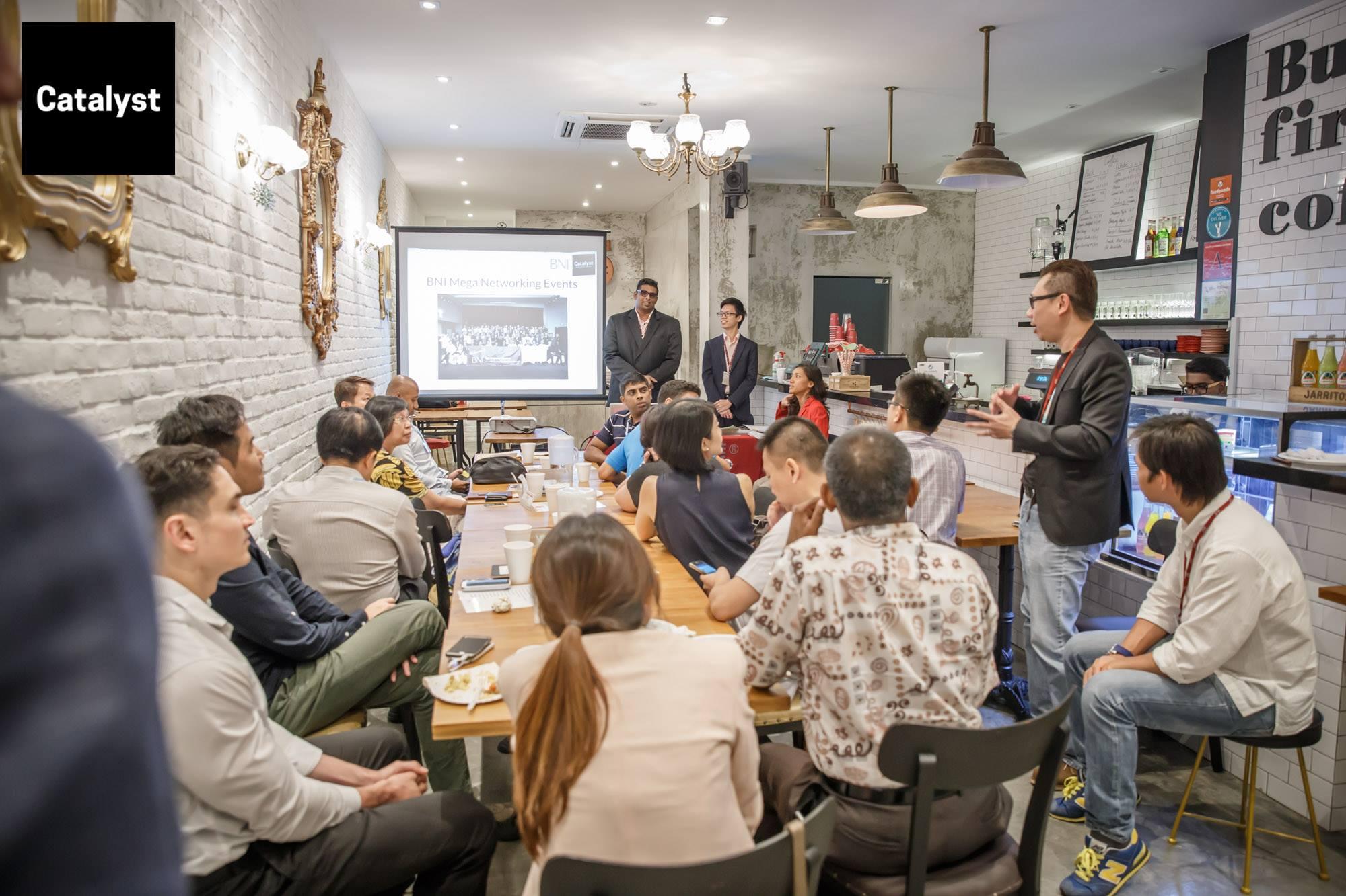 Piloto Asia BNI Catalyst Singapore Networking
