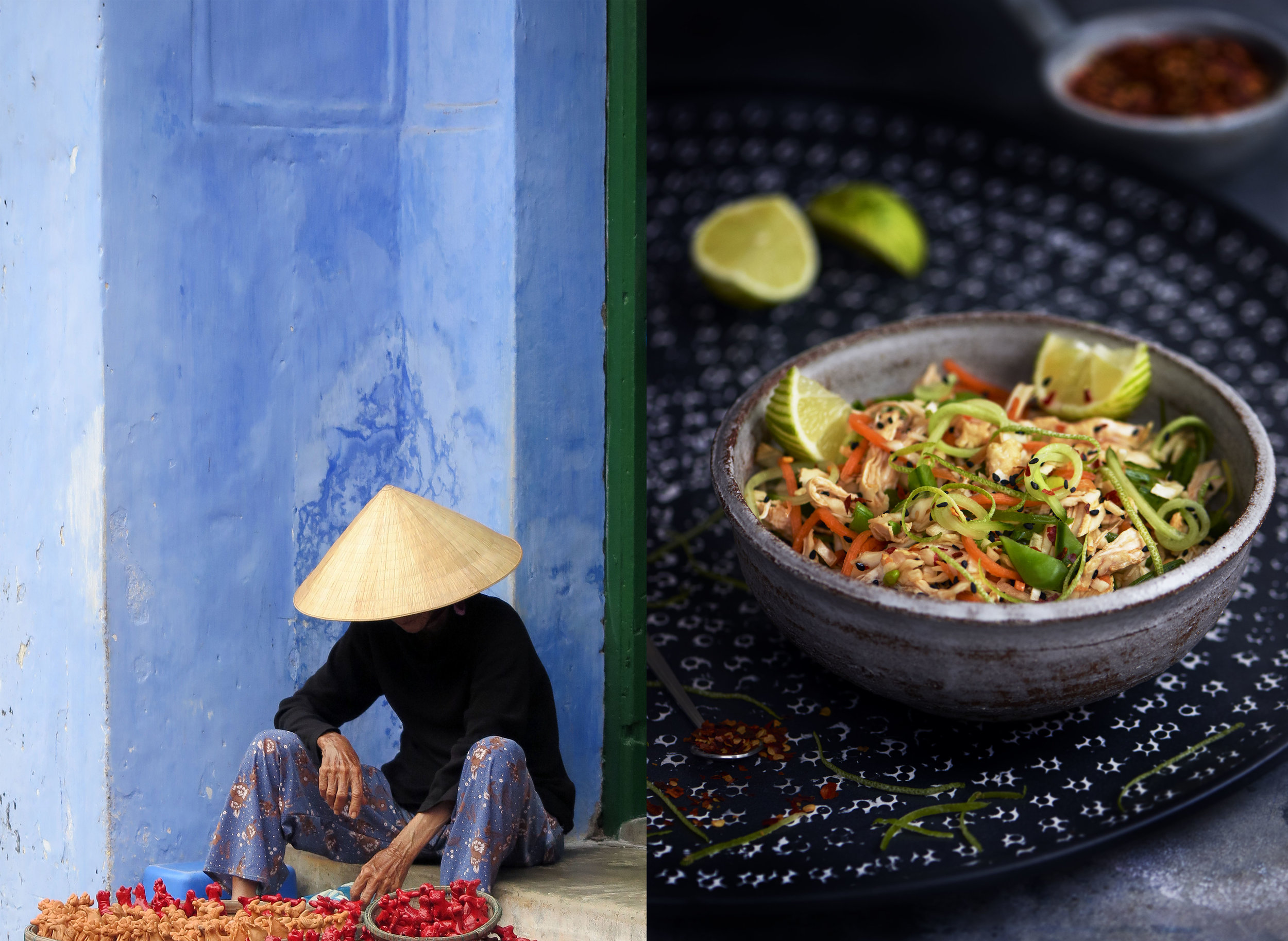 Vietnamese Chicken Salad & Lady Hoi an.jpg
