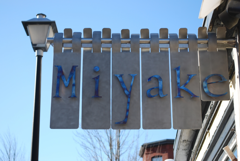 Original Miyake Sign