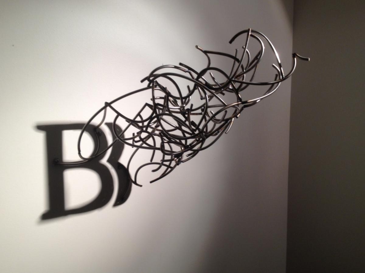 Brus Bros. Logo  |  2012  |  Stainless Steel, Shadow