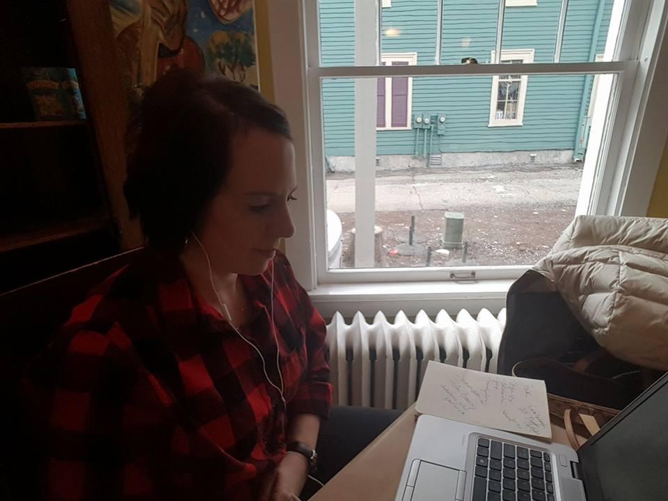Me writing ..........