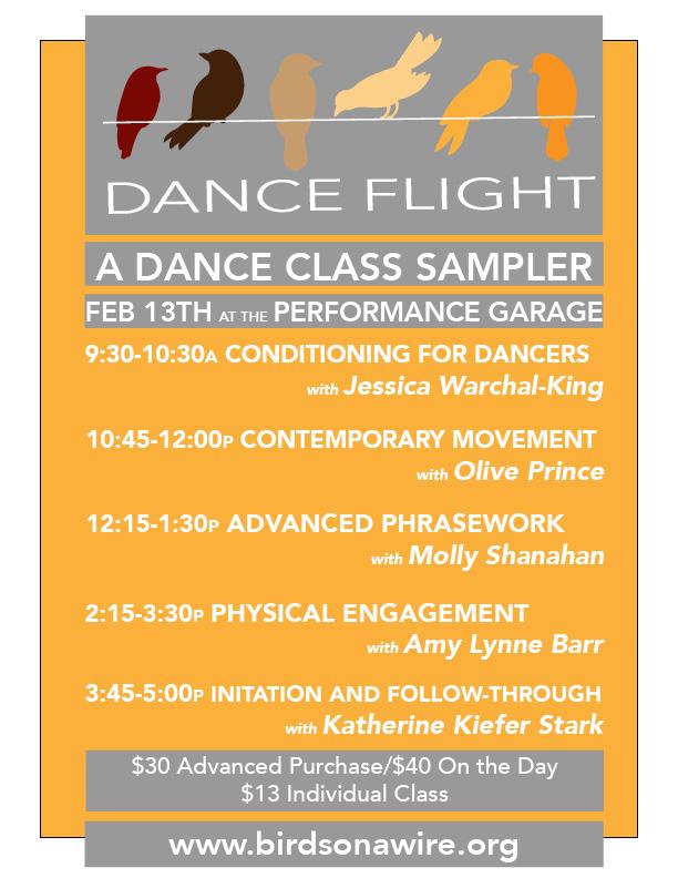 Dance Flight: Contemporary Dance Class Sampler