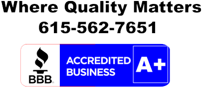 Better Business Logo - Nashville Fence Contractor A+ Rating - K & C Fence Company - Call 615-562-7651