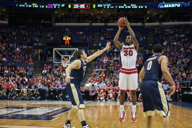 wi badger basketball @ ncaa tournament (st. louis)   march 2016
