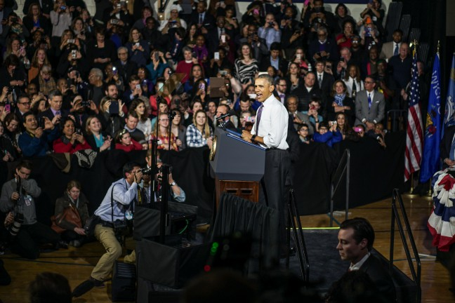 president obama in milwaukee  march 2016