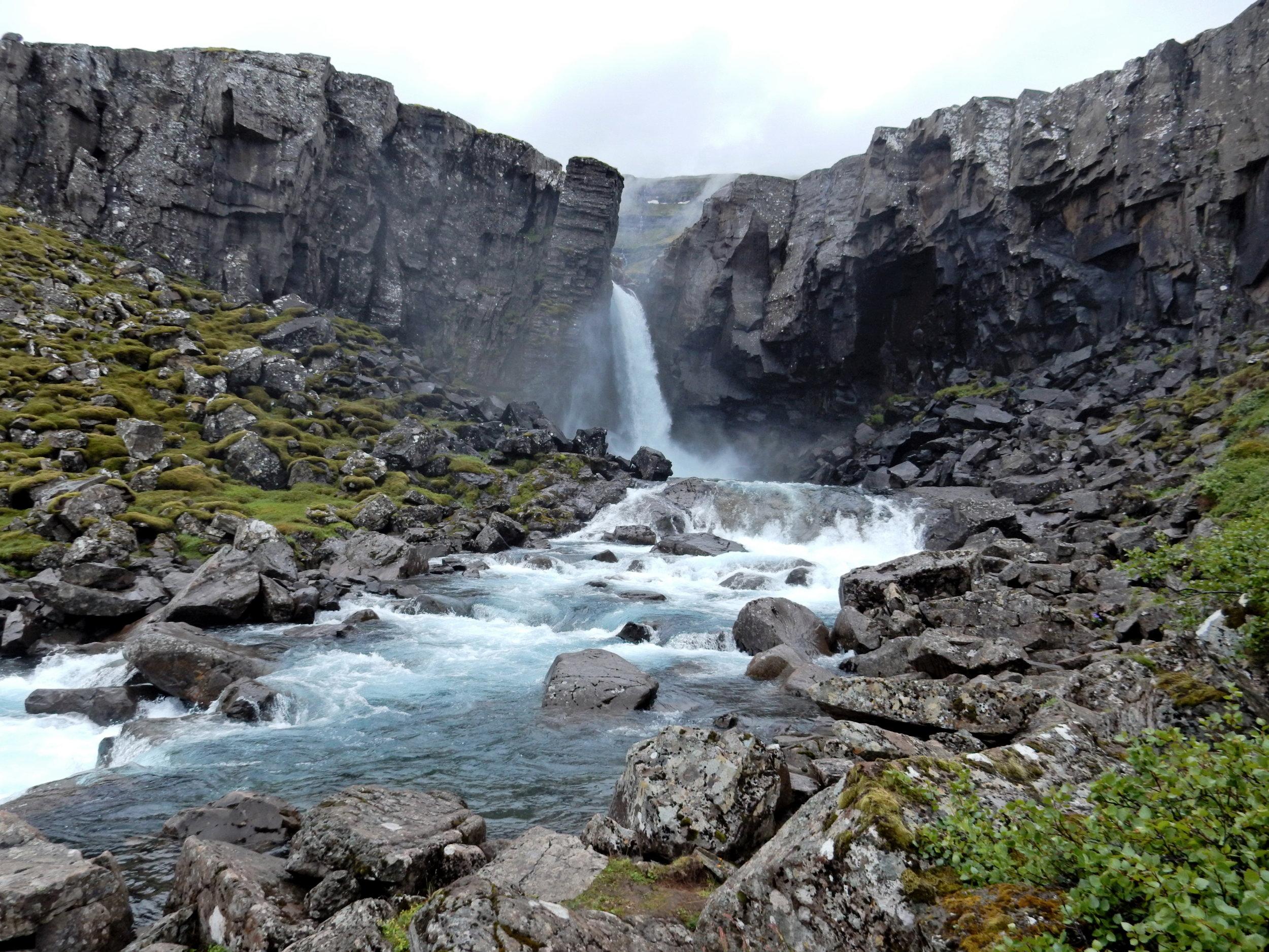 The Icelandic wilderness, June, 2016