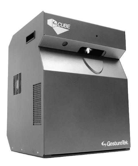 The GestureTek Cube