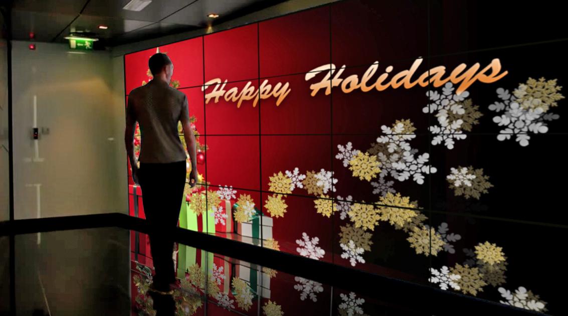 Happy Holidays Tree and Snowflakes.jpg