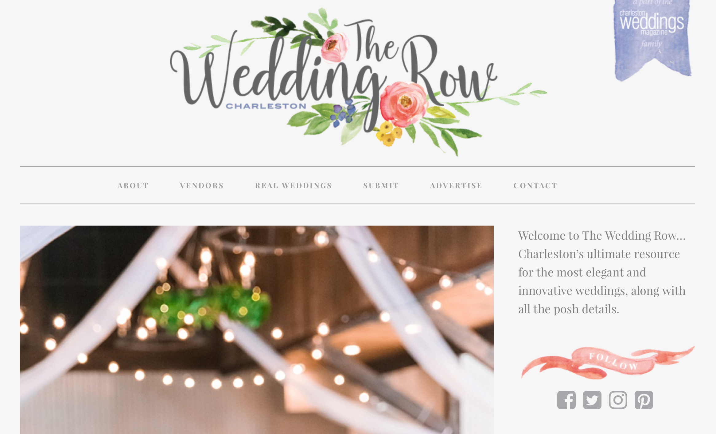 molly and caleb wedding row feature