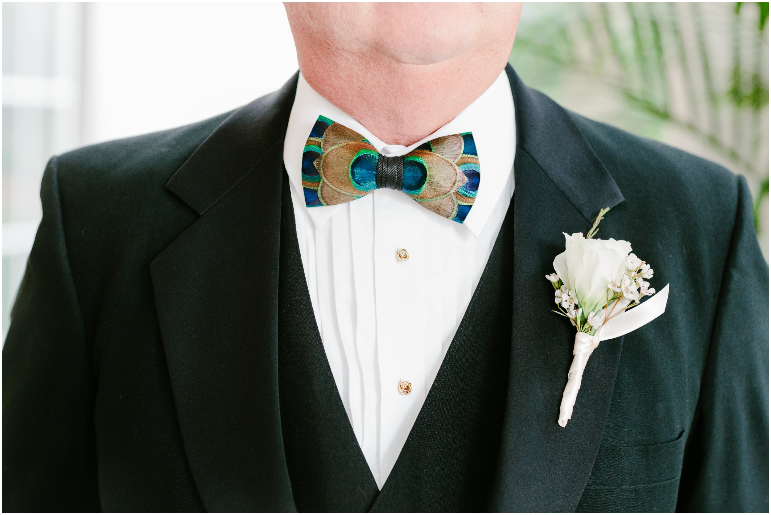 father of the bride wearing a brackish bowtie