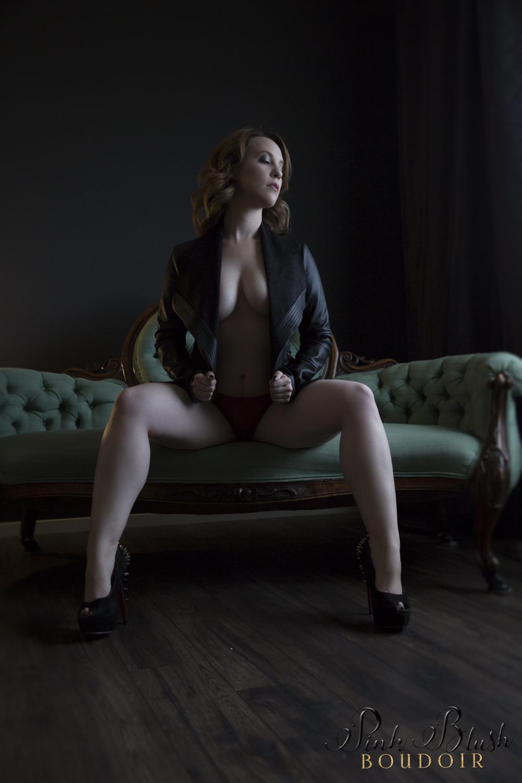 Dark Boudoir Photography