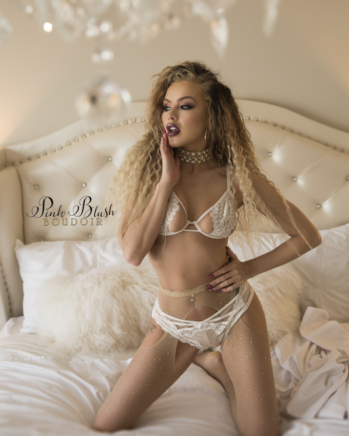 Boudoir Photography Edmonton Pink Blush