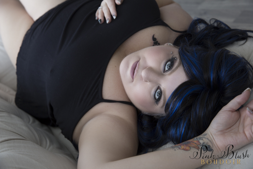 Plus Size Boudoir Photos Edmonton