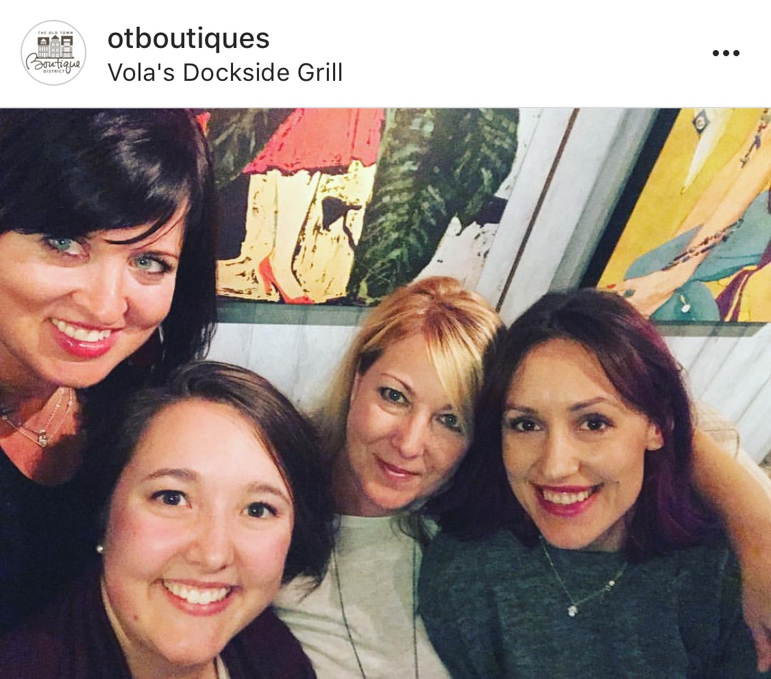 Absolutely love working with the ladies of the OTBD!