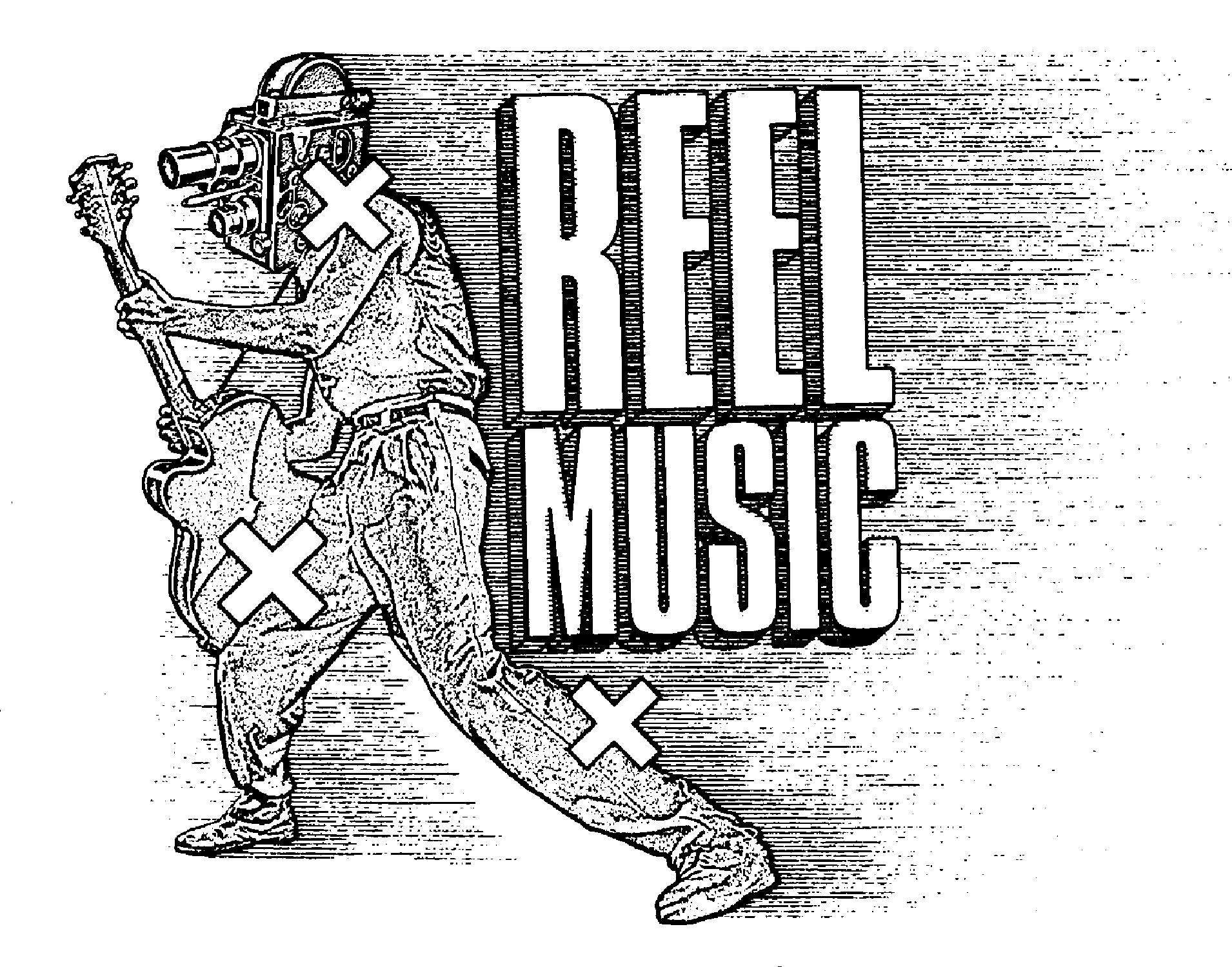 Reel Music Print Advertisement