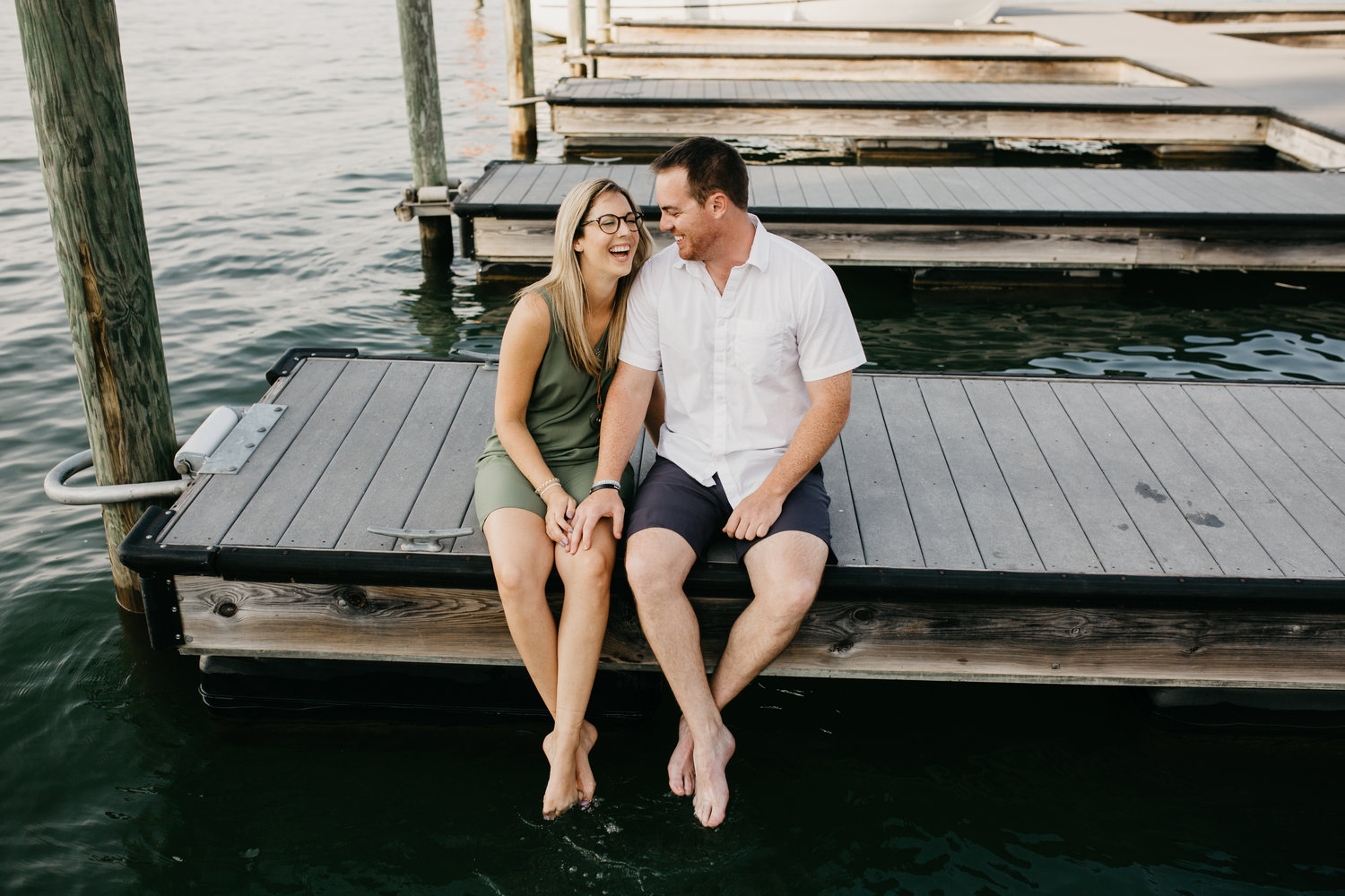 Brian & Ashley - Lake Norman, NC — Alli McConnell Photography
