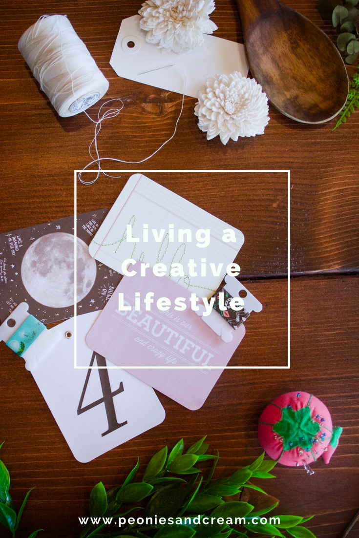 Peonies & Cream - Living a Creative Lifestyle