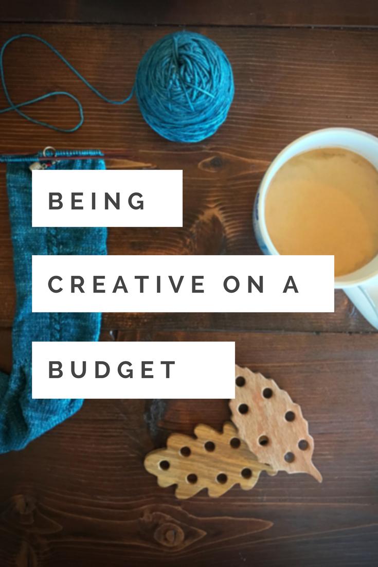 Peonies and Cream - Creative Budget Sock Yarn Coffee Mug