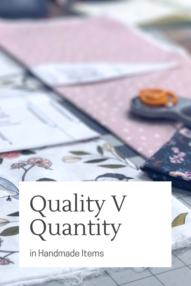 Peonies and Cream - Quality V Quantity in Handmade items