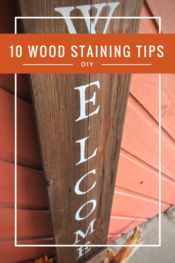 The best tips for wood finishing and staining - Peonies and Cream