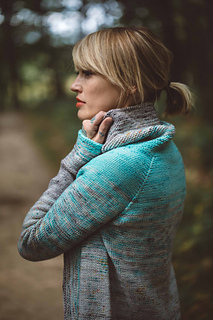 Comfort Fade Cardi by Andrea Mowry