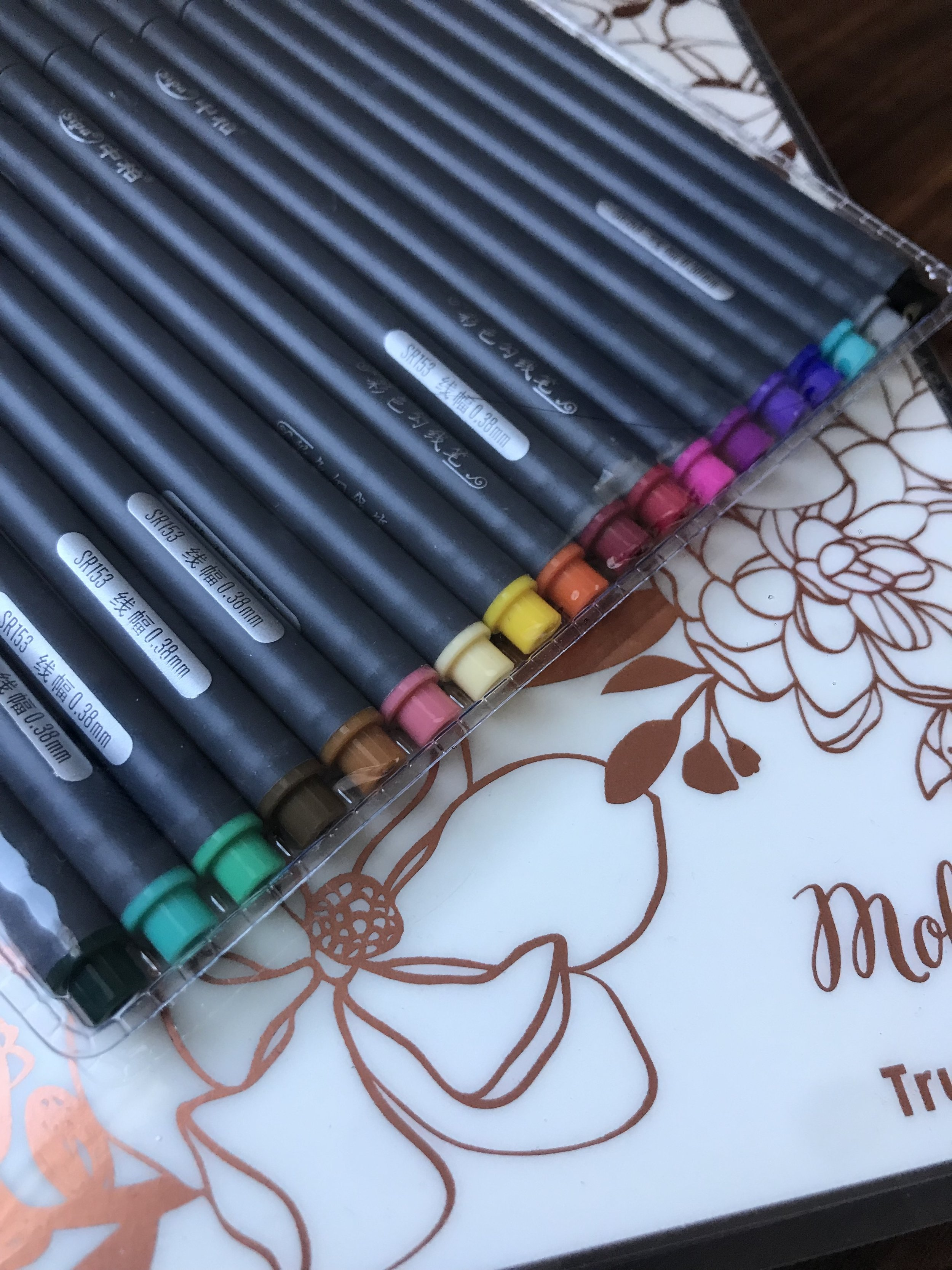 Fine Tip 18 Color pens