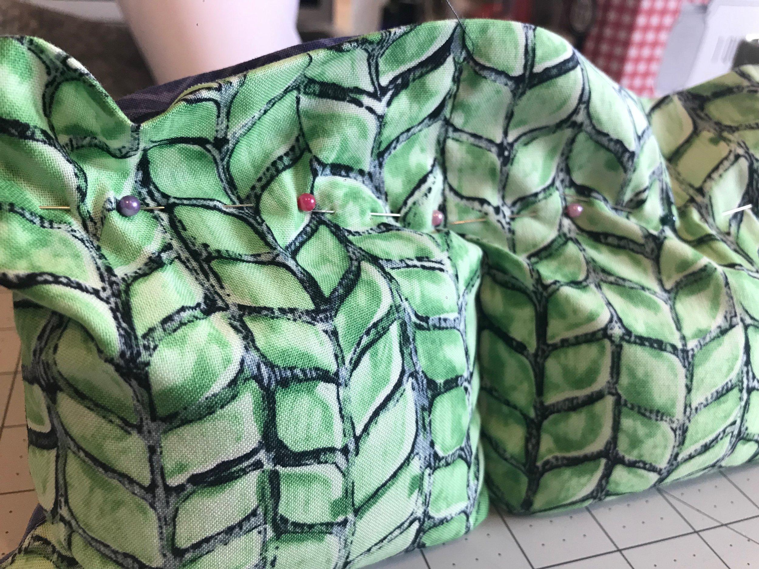 DIY Rice Pack   Peonies and Cream