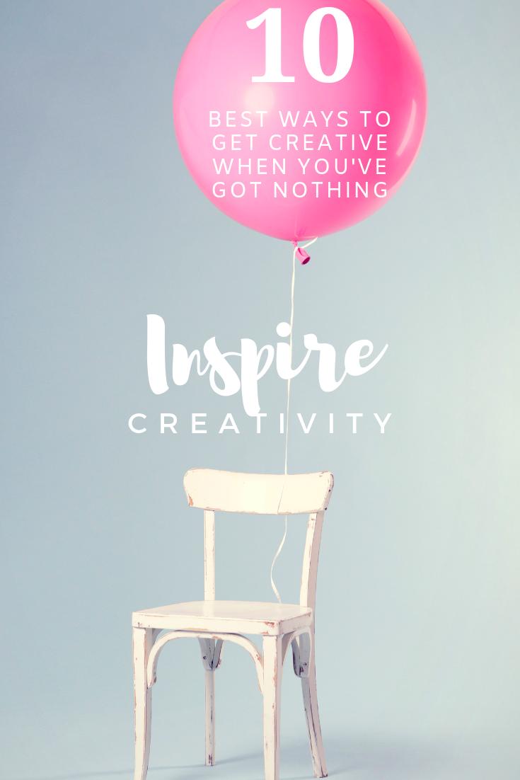 10 Ways to Inspire Creativity | Peonies and Cream