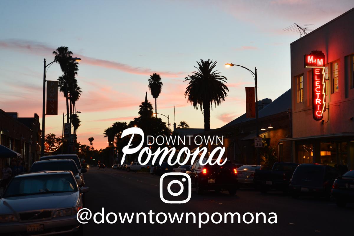 Downtown Pomona instagram