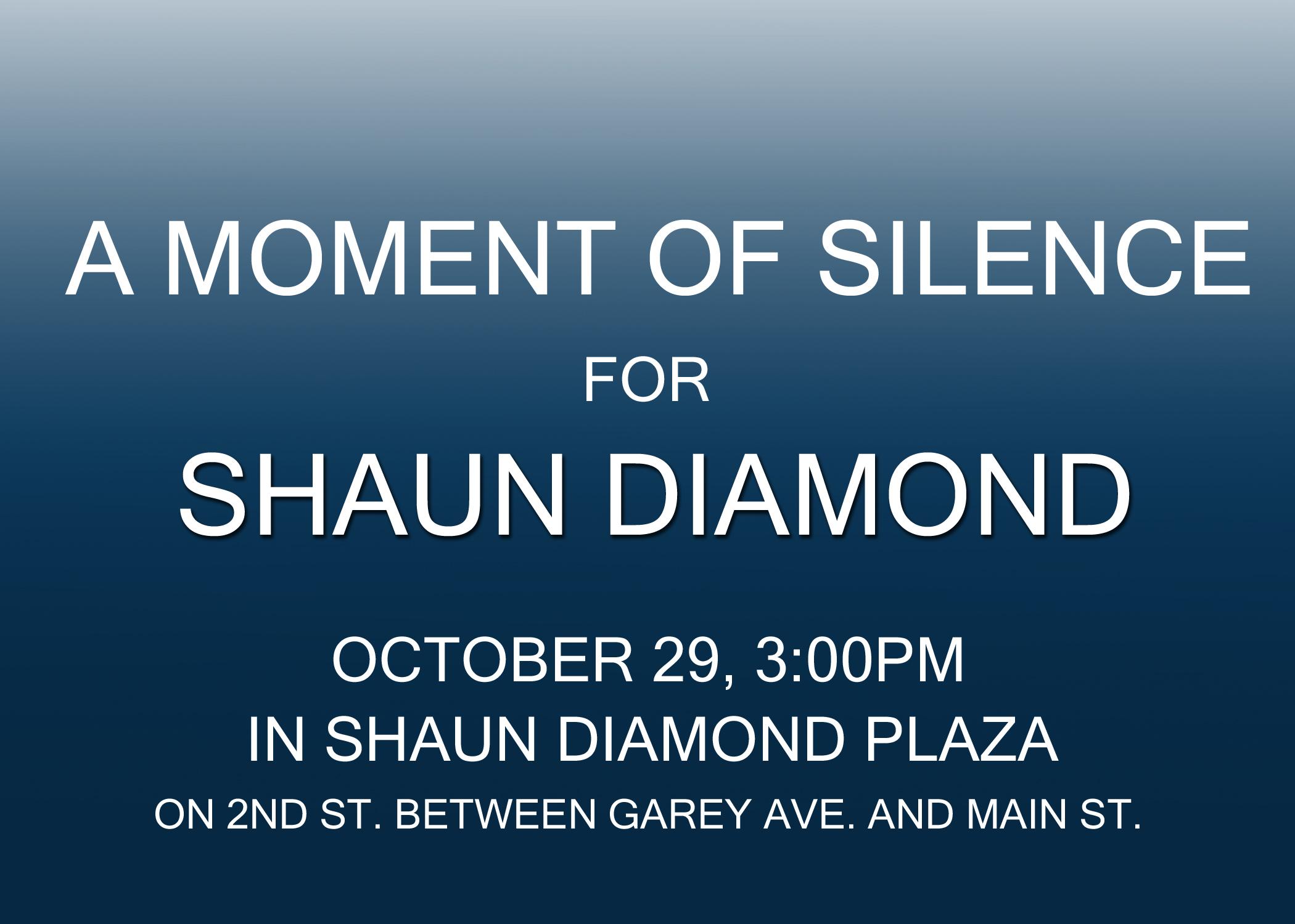 Moment of Silence for Shaun Diamond.jpg