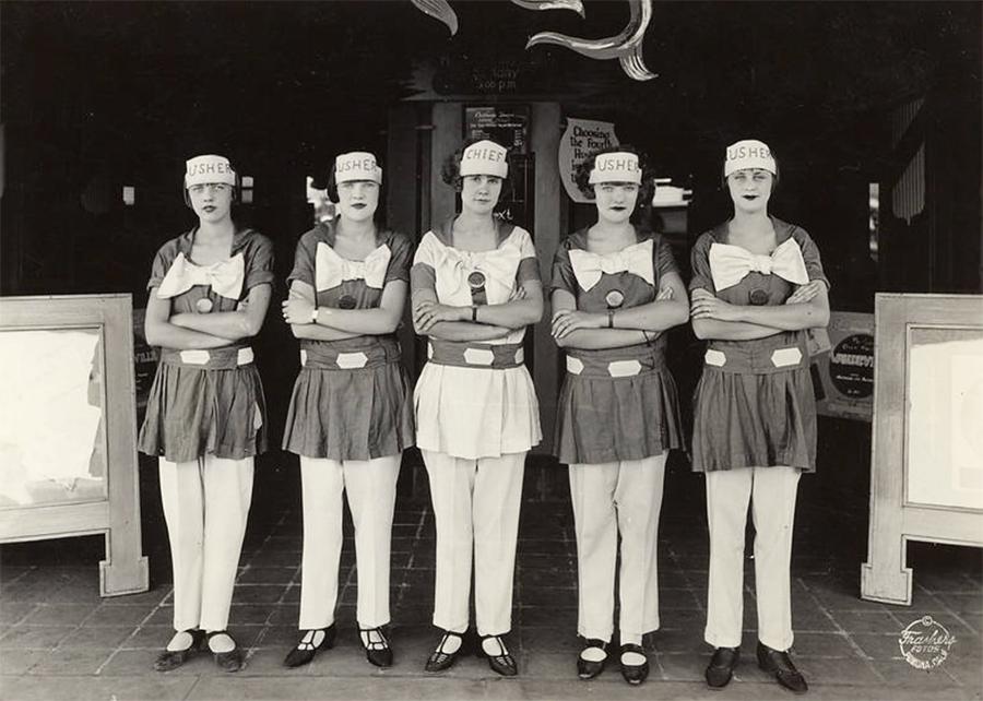California Theater Ushers 1924.jpg
