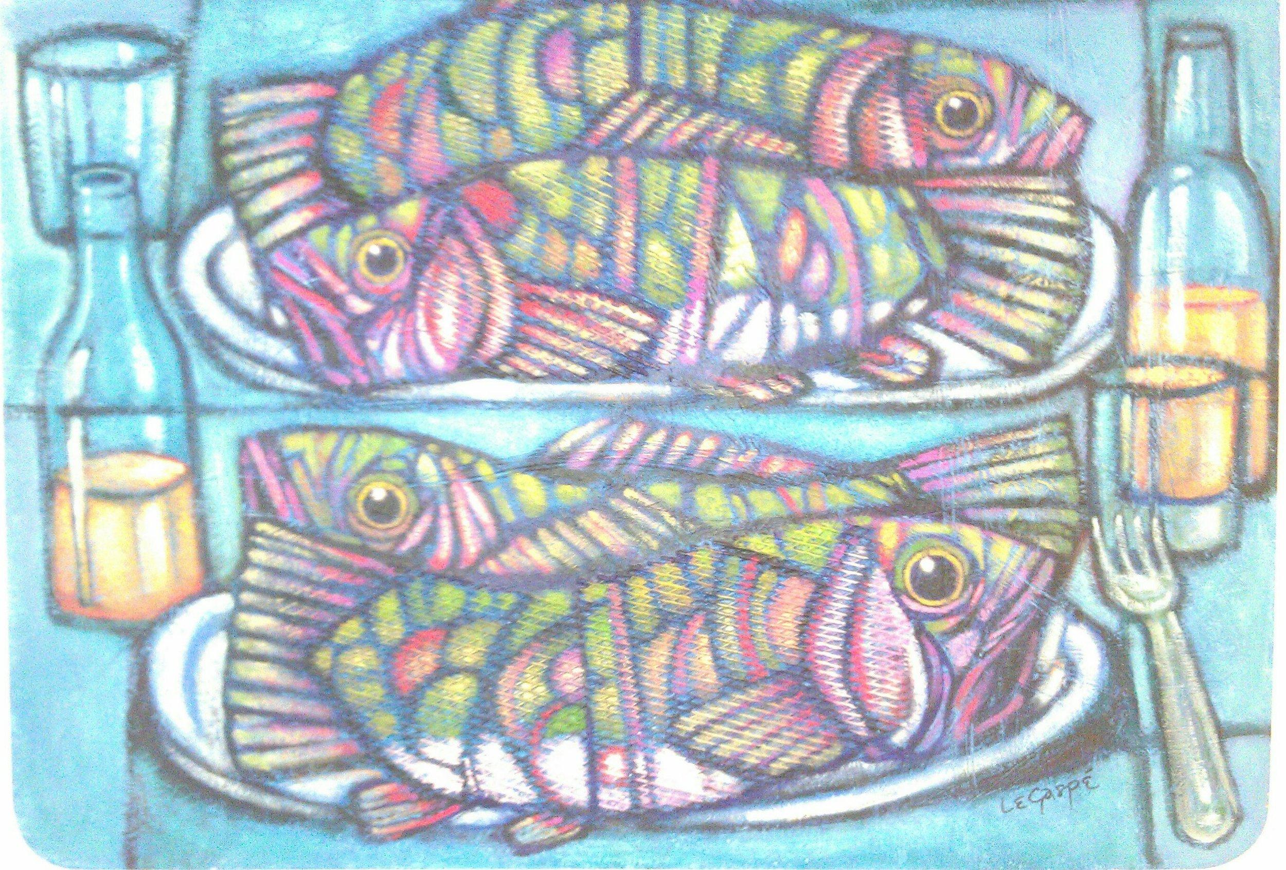 Fish , Manny LeGaspe