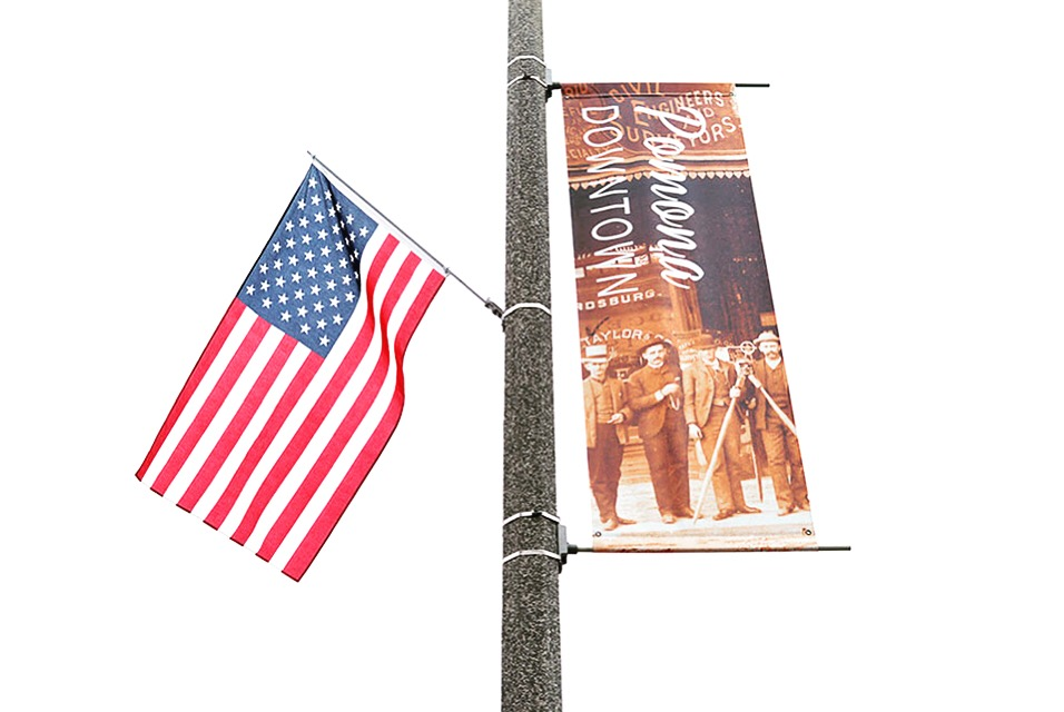 Flag Day Downtown Pomona