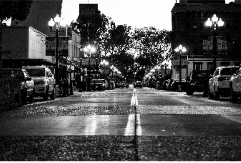 2nd Street View, Digital Print. Kiara Barcelo 2018