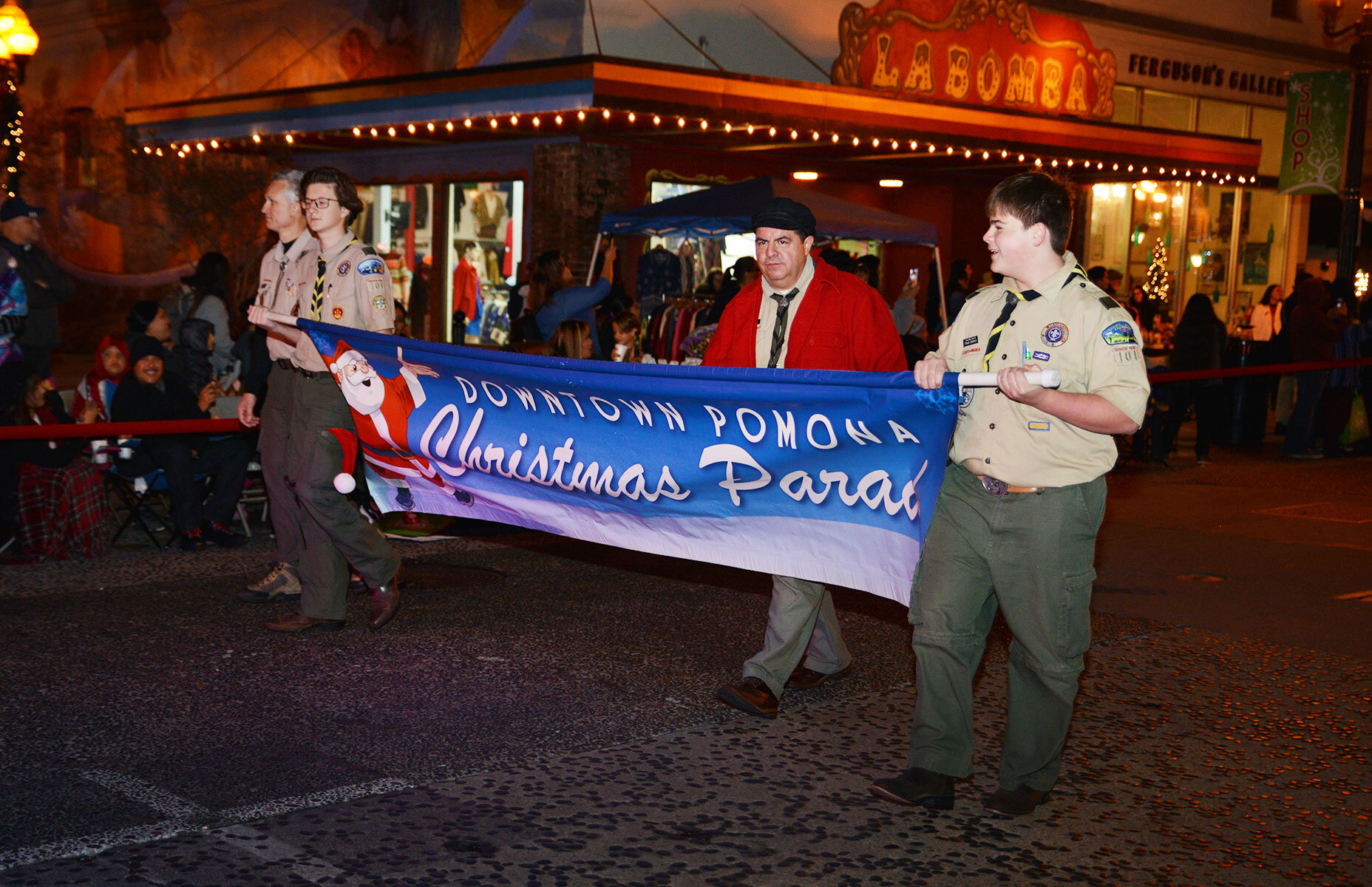 Christmas Parade — Downtown Pomona