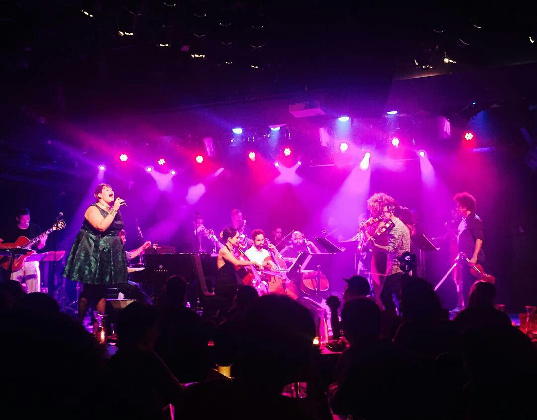 With The Sketchy Orkestra at le poisson rouge